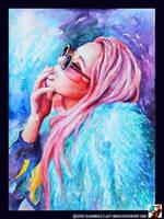Portrait of Anastasia Drozdova by lazy-brush