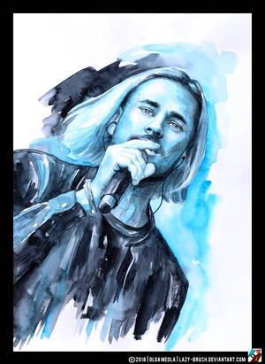 Portrait of Maksim Svoboda by lazy-brush