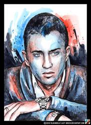 Portrait of Pavel Priluchny by lazy-brush