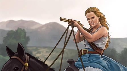 Westworld season 2 - Dolores by RUGIDOart
