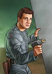 Forbidden Planet - Commander Adams by RUGIDOart