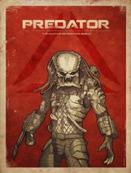 Predator poster by RUGIDOart
