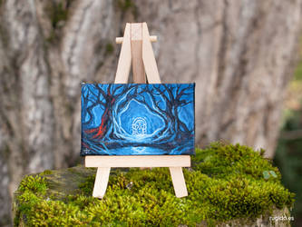 West-gate of Moria minipainting by RUGIDOart