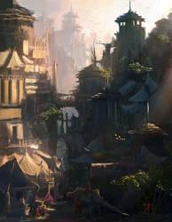Vertical City by HeavenlyDeamonic