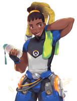 Overwatch Lucio by peyoberry