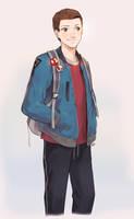 Bomber Jacket by peyoberry