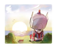 Sunrise by peyoberry