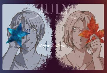 Happy Birthday, Boys! by ScarletteDiscord