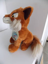 Animals of Farthing Wood Fox by Hornby (side view) by TheRaggleTaggleGypsy