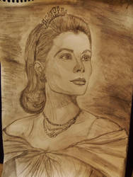 Rushed Grace Kelly by TheRaggleTaggleGypsy