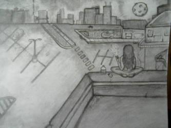 on the edge. by peacelovebeatles