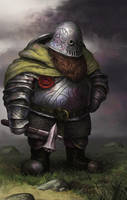 Dwarven Defender by jlewenhagen
