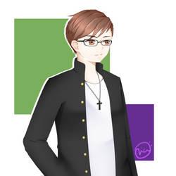 Commission - Yagami Ryuusei by CvIaZ