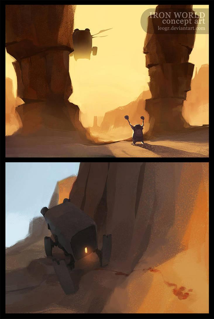 Iron World - Environment 2 by LeoGr