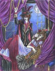 Victorian Vampire by petal-elf
