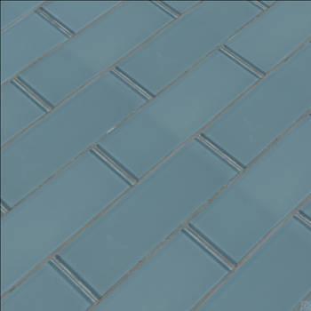 Harbor Gray 3x9 Backsplash Glass Subway Tile by Sofia4564