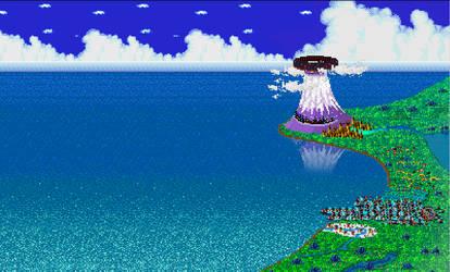 Sonic After the Sequel -  Map Wallpaper by HerrLeerzeichen