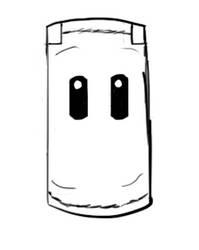 Smash Bros. Sandbag - Digital Art Test Sketch by HerrLeerzeichen