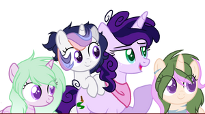 Purples Neices by ThePegasisterPony