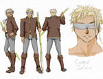Character Profile: Connor Saltaire by Meagharan