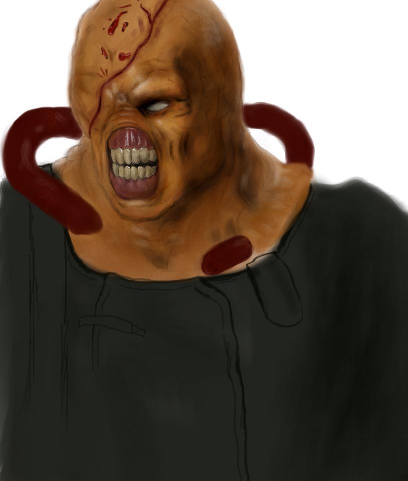 Old art piece of Nemesis 2 by DarkPrediction20