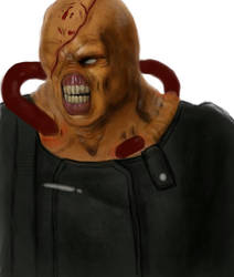 Old art piece of Nemesis 3 by DarkPrediction20