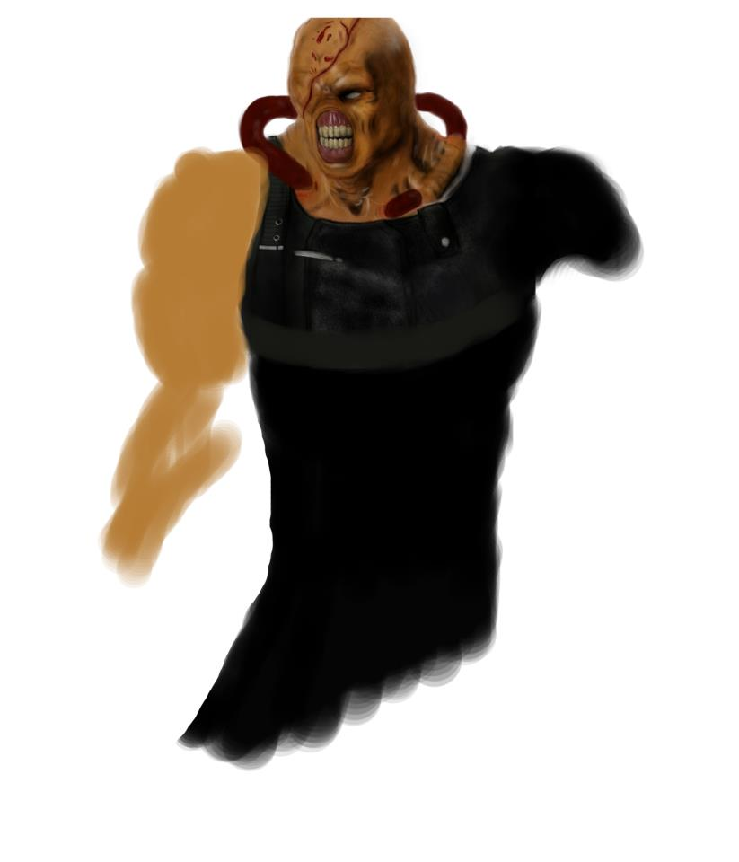 Old art piece of Nemesis 4 by DarkPrediction20