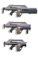 Pulse Rifle Variants by Matsucorp