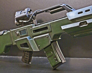 DOOM Reaper rifle 005 by Matsucorp