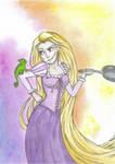 Rapunzel by mythicamagic