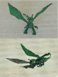 Baby Emerald Dragon by marinka-v