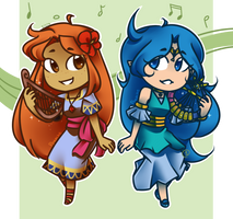 Lyre Ladies by Ppeacht