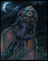 The Haunter of the Dark by Onychuk