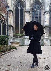 Winter Fall (umbrella) 01 by nekomendes