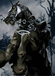 LOTR MPII: The Nazgul by gattadonna