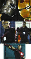 Iron Man The Movie set 6 by gattadonna