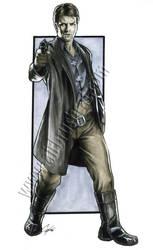 Heroes Con sketch: Mal by gattadonna