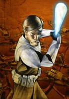 Star Wars Galaxy:Obi Wan by gattadonna