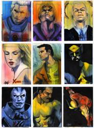X-Men Archives Set 5 by gattadonna