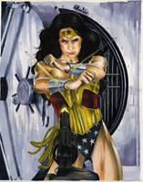 Wonder Woman Day 2009 original by gattadonna