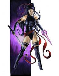 Psylocke by gattadonna