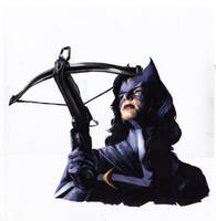 Vigilante Stories: Huntress orig by gattadonna