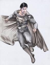 SMVL Season 11 Cover #4 Superman by gattadonna
