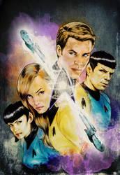 Star Trek by gattadonna