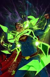 Smallville: Lantern #4 by gattadonna