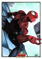Complete Avengers: Spider-man by gattadonna