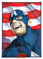Complete Avengers:Cap America by gattadonna