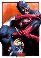 Complete Avengers: US Agent by gattadonna