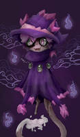 purple by Gekkogahara