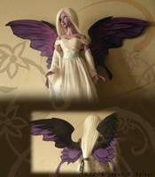 New Wings - Purple Fairy by TheMushroomPeddler